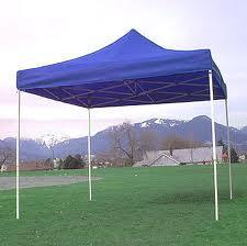 Do it Yourself Set of 2 Pop up Tents w/2 Tables and 20 Folding Chair Brown Outdoor