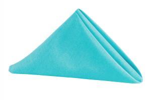 Poly Napkin Aqua Blue