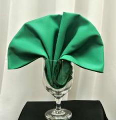 Poly Napkins color Emerald Green