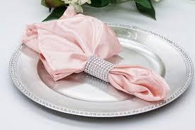 Satin Napkin Blush