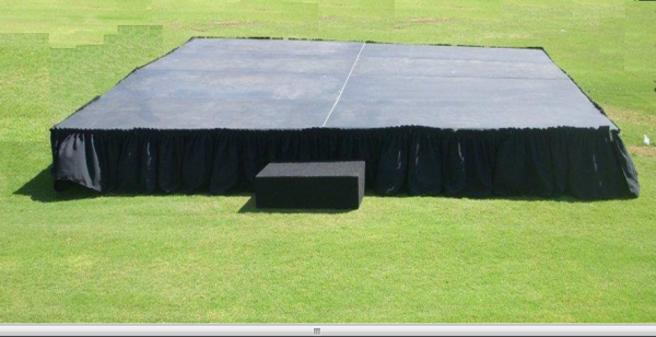 Stage 4\'x4\' section