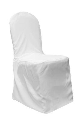 Folding Chair Cover, White