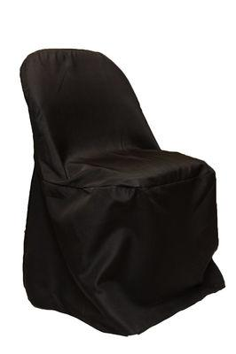 Folding Chair Cover, Black