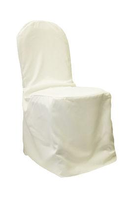 Banquet Chair Cover, Ivory