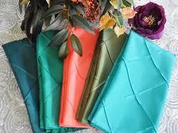 Pintuck Taffeta Tablecloth 85 x 85\