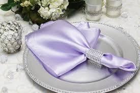 Satin Napkin Lavender