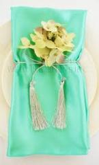 Satin Napkin Tiffany Blue