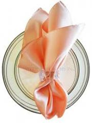Satin Napkin Peach