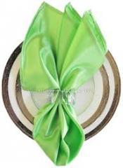 Satin Napkin Apple Green