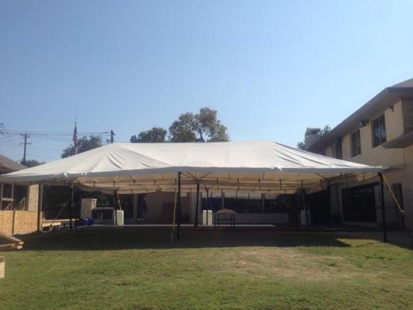 20\' x 40\' Tent Frame / Set up