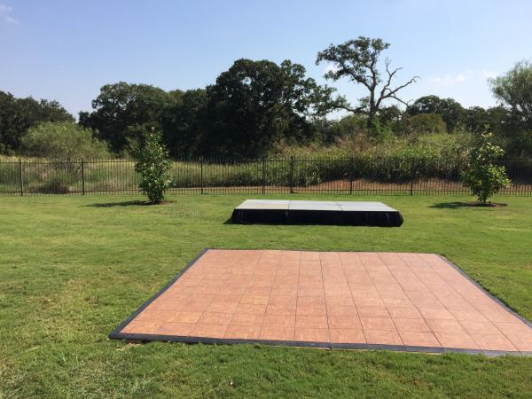 Dance Floor, Outdoor 3\'x3\' Section