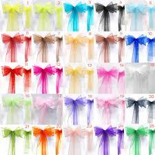 Chair Sashes Organza