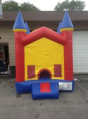 Mini Clown Toddler Bounce House
