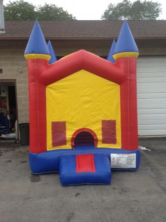 Mini Clown Toddler Bounce House