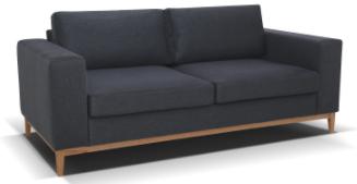 Baku 32 dark grey sofa