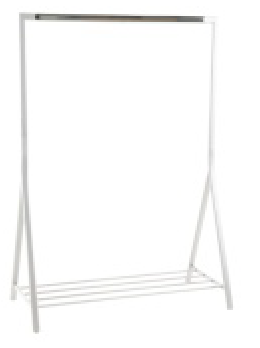 Brent clothes rack white ACT