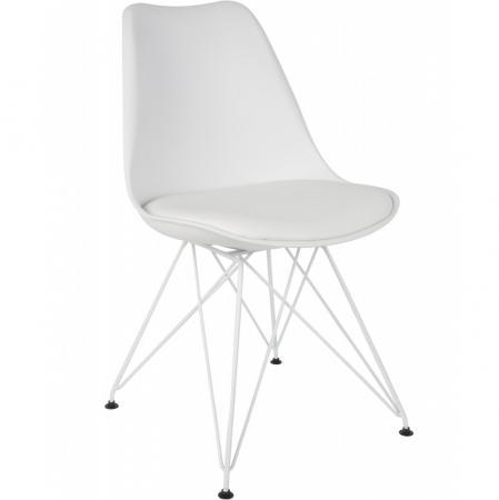 Ozzy White Chair 1100288 / D-05-02 1 Paket 2 STK