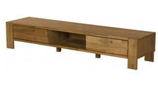 Oak TV-Lowboard
