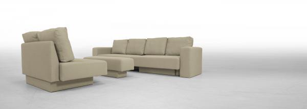 Corner Sofa set Feydom Choice 5 Premium Modular Sofa - Capuccino